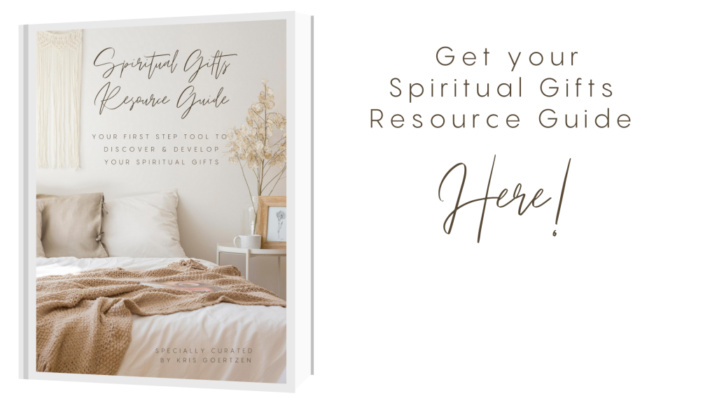 Get Your Spiritual Gift Resource Here